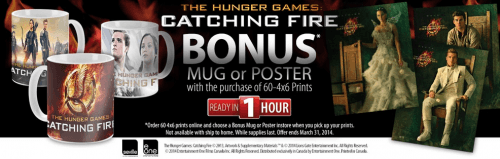 hunger games catching fire bonus