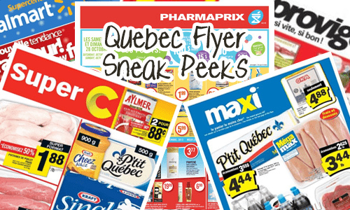 Quebec Flyer Sneak Peeks February 4-1 Grocery Stores