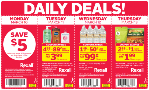 rexall daily deals