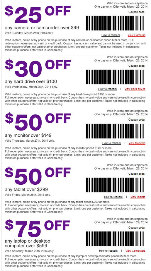 Staples 5 off 25 printable coupon