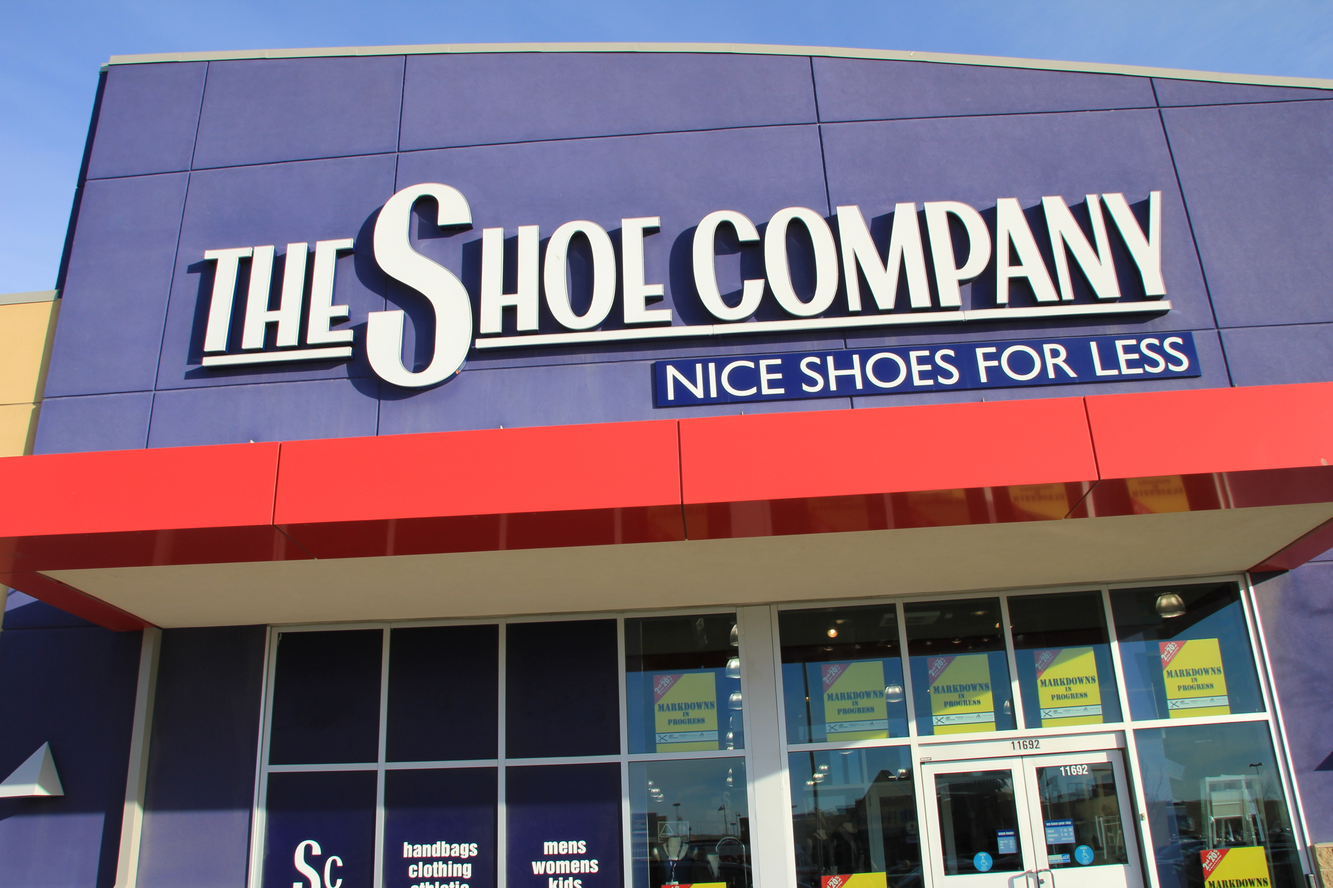 The shoe company online shopping