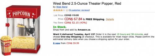 Amazone.ca Offers