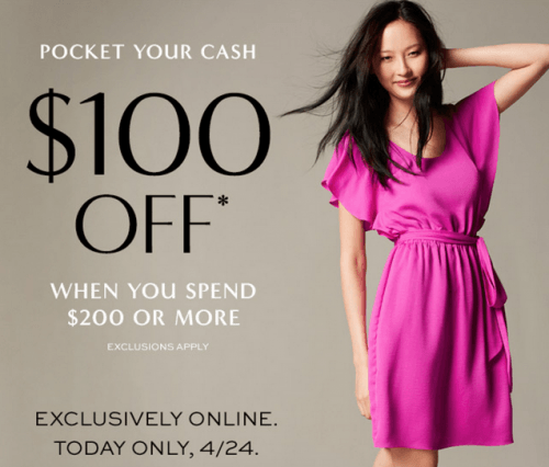 Banana Republic Canada Coupon Code