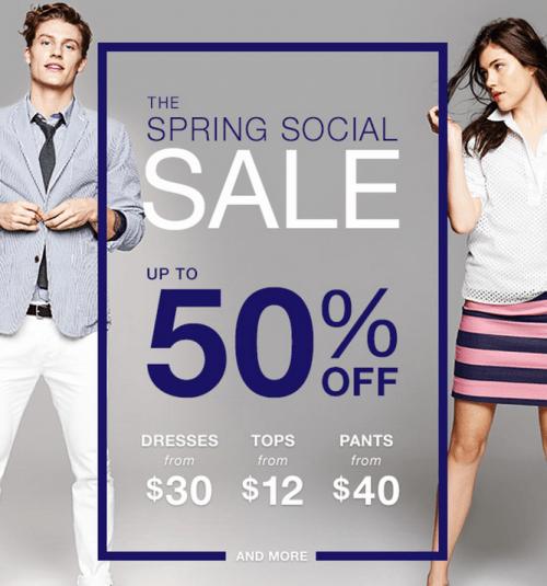 Gap  Canada Spring Social Sale