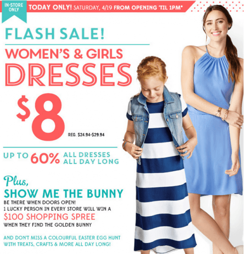 Old Navy Canada Flash Sale