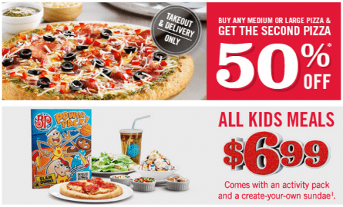 boston pizza bogo