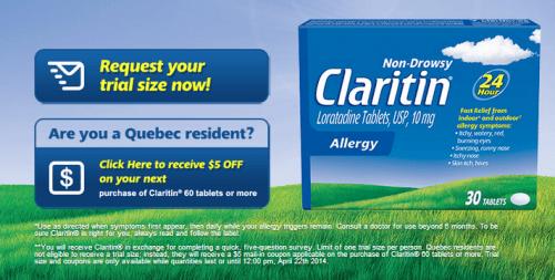 Claritin Clear Meme Claritin Canada Freebi...