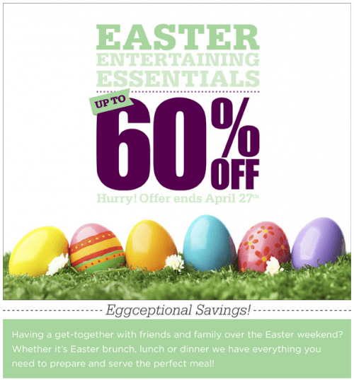 easter savings kitchen stuff plus