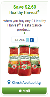 healthy harvest websave