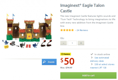 imaginext walmart