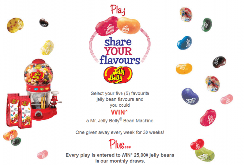 jelly bean candy contest