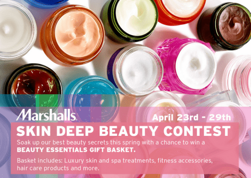 Marshalls Canada Contest: Win a FREE Beauty Gift Basket
