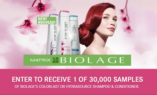 matrix biolage freebie
