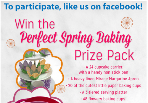 mirage margarine contest