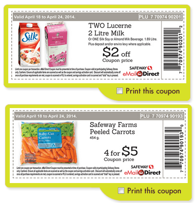 photo about Safeway Printable Coupons called Safeway Printable Discount codes: Help save upon Milk, Carrots Far more