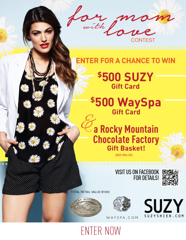 suzy shier mothers day contest