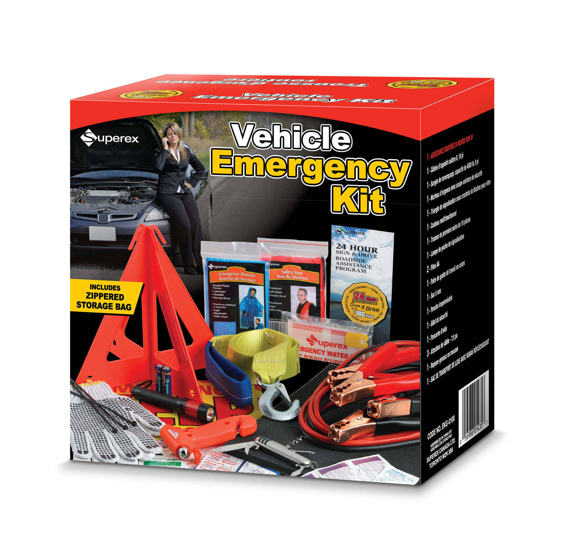 Walmart Canada Deal Vehicle Emergency Kit Only 18 Free