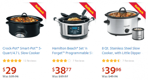 walmart slow cookers