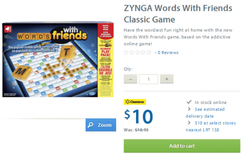 zyngra words with friends walmart