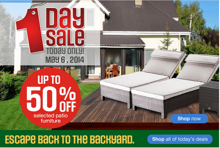 Marvelous Sears Canada Day Offer Today Only Up To Off Selected Patio Furniture