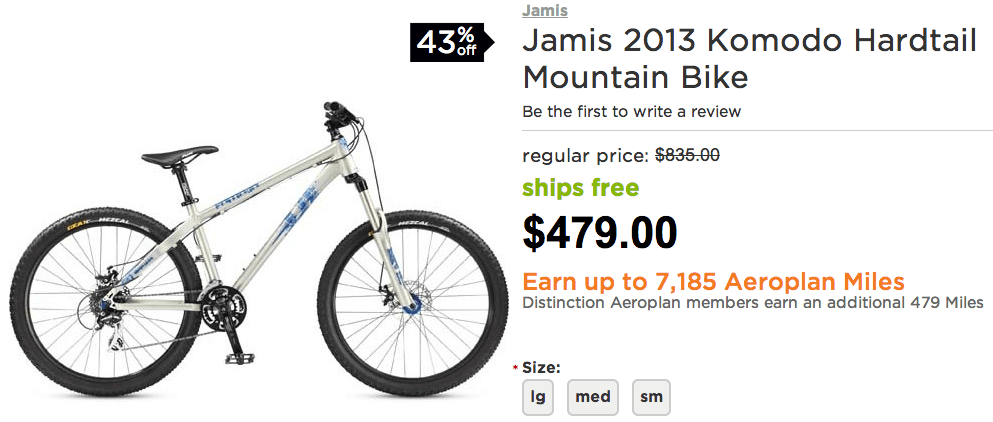 Bikes Online Canada Mountain Bike for