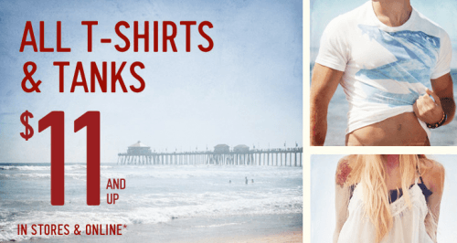 hollister beach flyers t shirts male models picture