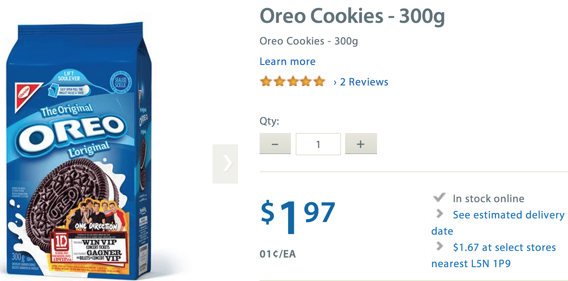 Oreo coupons walmart