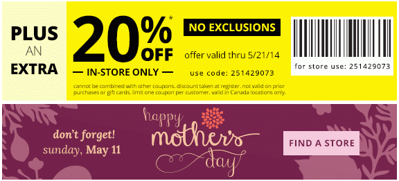 Payless shoesource canada coupons