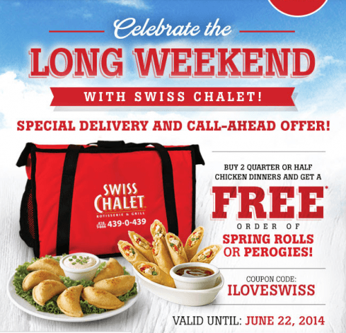 Swiss chalet canada coupon code june 2018
