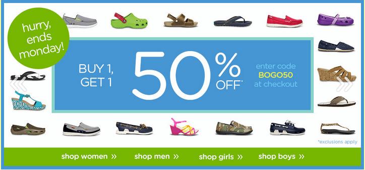 crocs coupon code canada