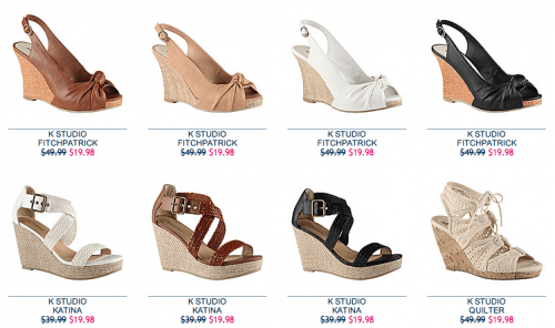 2fef5899 Globo Shoes Canada Promotion: Get Select Wedges, Sandals, Flats ...