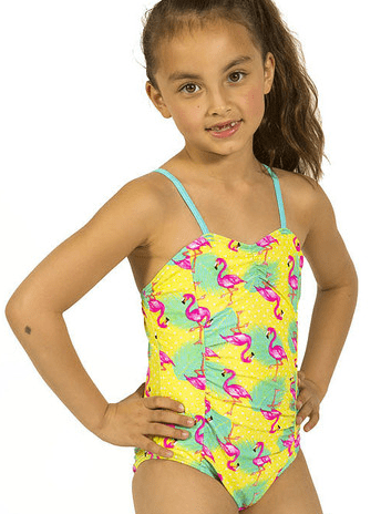 Girls' Floral Dawn One Shoulder Swim Set CAD $ ; QUICK VIEW.