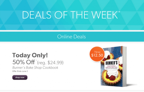 deals of the week chapters indigo canada