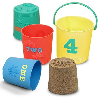 melissa doug four pails