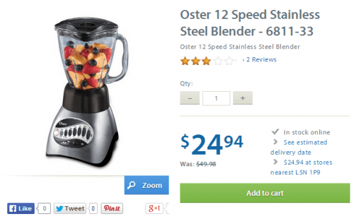 oster 12 speed walmart