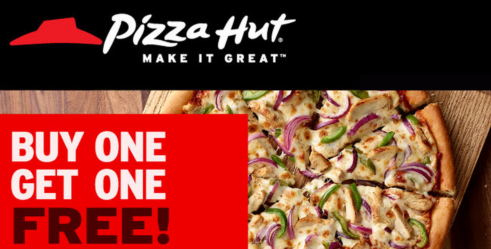 picture regarding Pizza Hut Printable Application known as Pizza Hut Canada Promo Codes: Acquire 1 Pizza Consider 1 Absolutely free *Incredibly hot