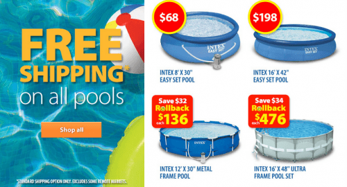 Walmart Canada Rollback And Clearance Deals Perfect Pool