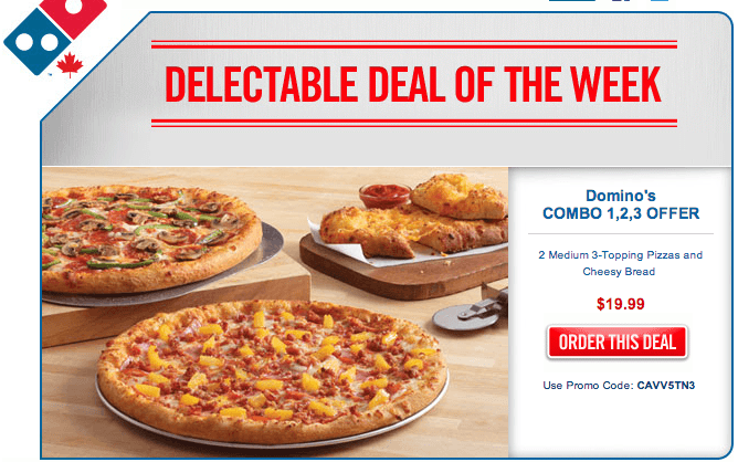 Domino's voucher Australia; Insane Prices on Pizzas. Looking for the best pizzas for the best prices? Chek out Domino's amazing discounts so you can enjoy insane prices on pizzas, sides, combos and more! 33% off selected pizzas with this Domino's voucher code Details. Loading Copy. View Code.
