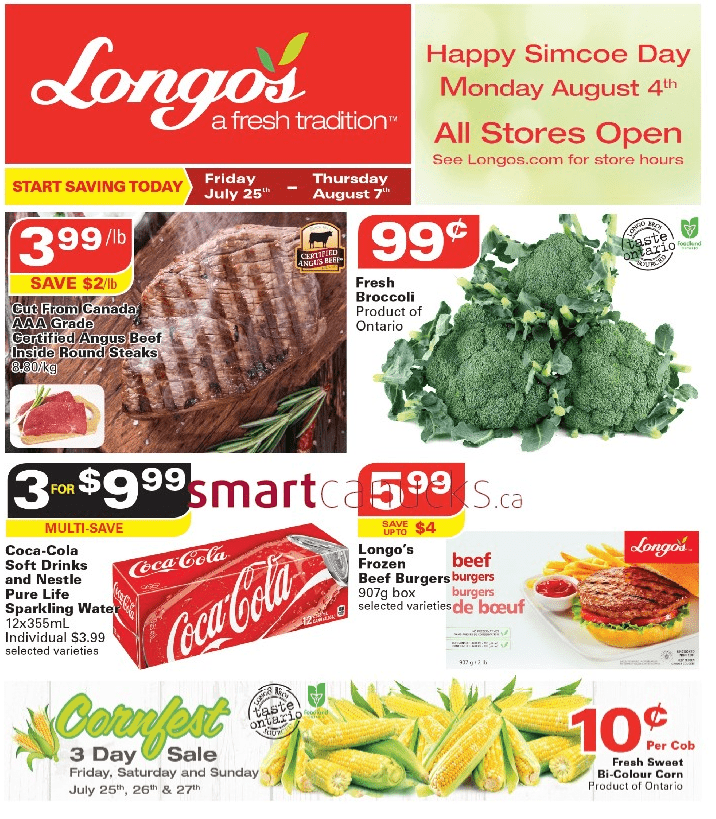 Longo s Flyer July 25 to August 7