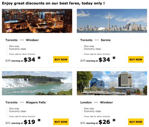 Via rail discount coupons