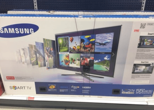 target canada promotion get the 55 samsung led smart tv originally 1 on sale for 699. Black Bedroom Furniture Sets. Home Design Ideas