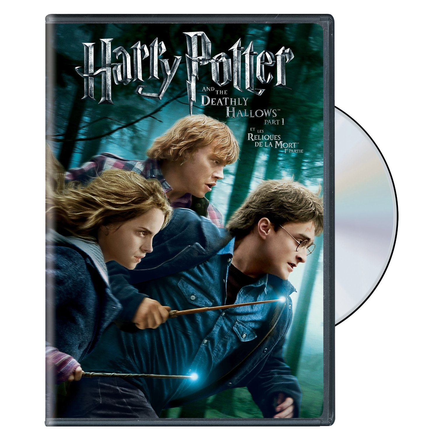 amazon canada deals harry potter and the deathly hallows dvd part 1 and part 2 only 5 each. Black Bedroom Furniture Sets. Home Design Ideas
