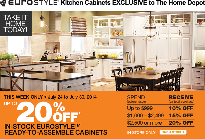 the home depot canada sale save up to 20 off eurostyle