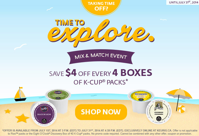 keurig mix and match