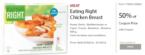 photograph regarding Eat More Chicken Printable called Safeway Printable Shop Coupon codes: Preserve 50% upon Rooster Breast
