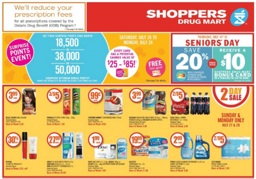 shopper senior day