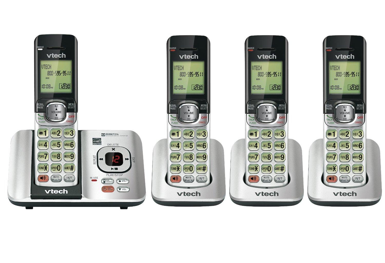 Amazon Canada Deal Vtech Dect 6 0 4 Handset Cordless