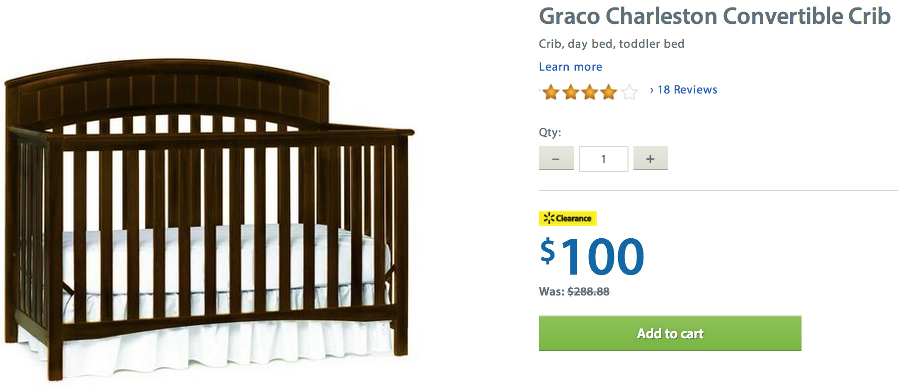 Coupons for cribs at walmart