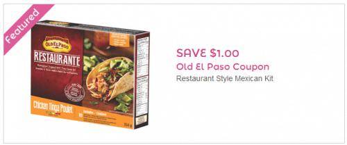 Old el paso coupons canada