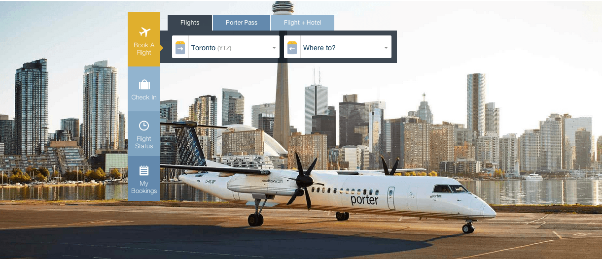 Porter airlines canada offers save up to 45 off base fares canadian freebies coupons deals - Porter airlines book flights ...